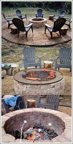 37 Most Popular Backyard Fire Pits Design Ideas- A Perfect Way to Entertain Guests 7083