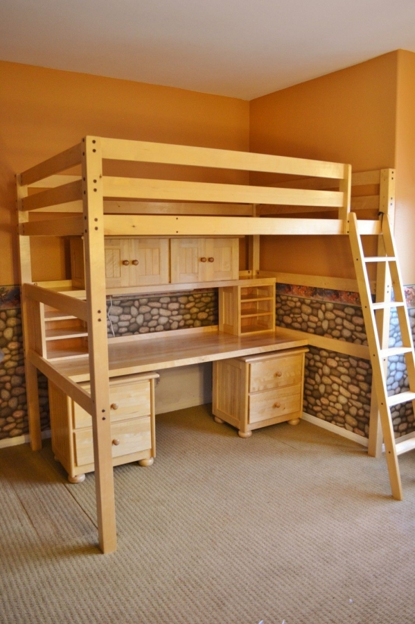 72 Most Popular Full Size Loft Bed with Stairs and What You Must Know 6360