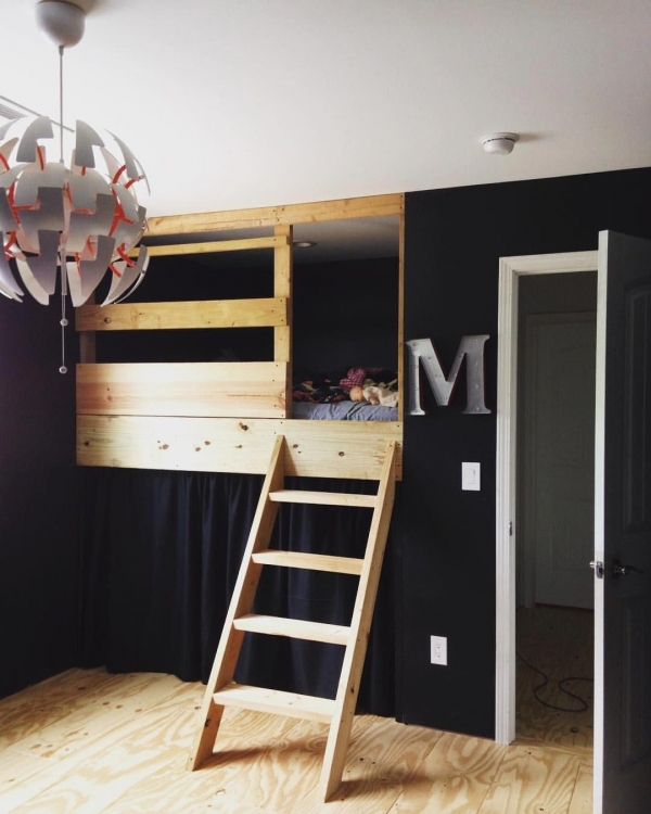 72 Most Popular Full Size Loft Bed with Stairs and What You Must Know 6350