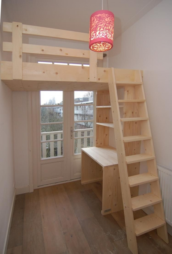 72 Most Popular Full Size Loft Bed with Stairs and What You Must Know 6374