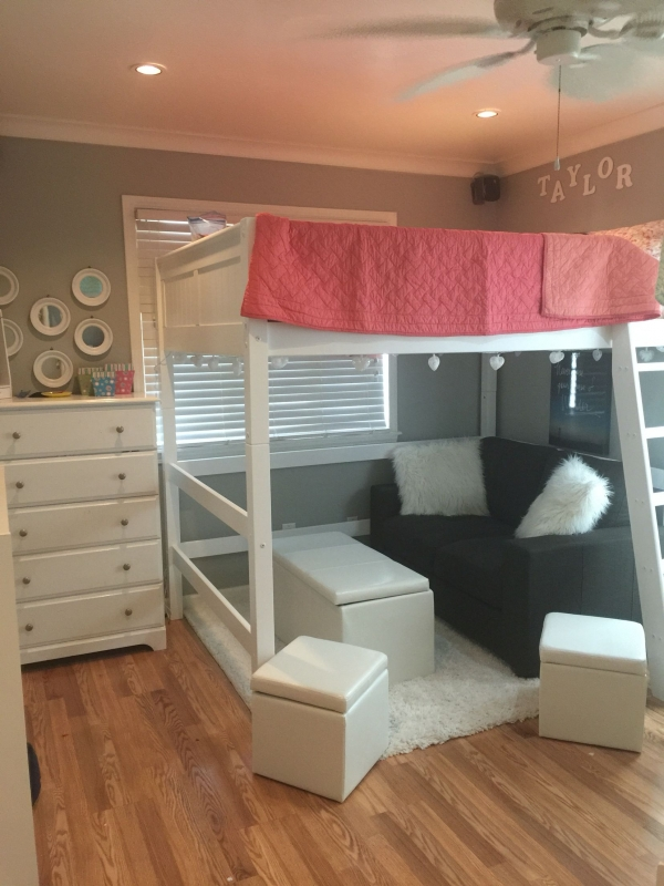 72 Most Popular Full Size Loft Bed with Stairs and What You Must Know 6354