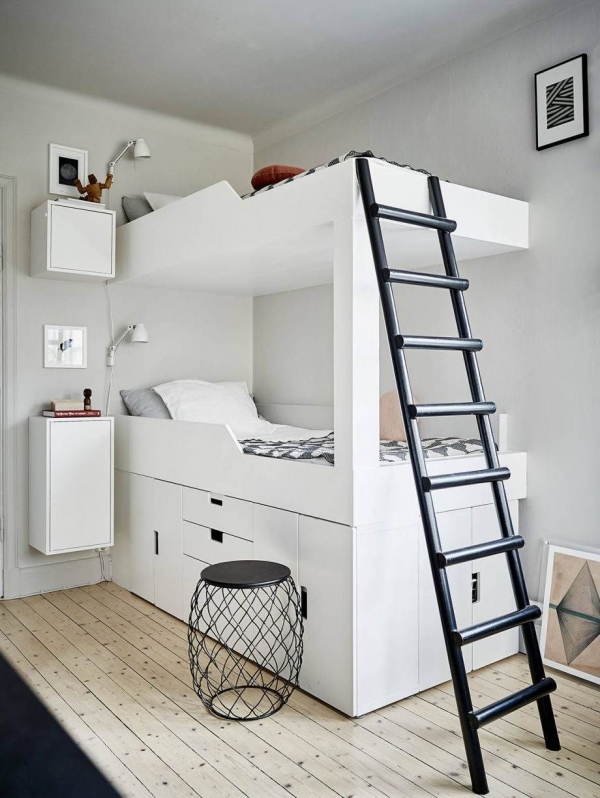 72 Most Popular Full Size Loft Bed with Stairs and What You Must Know 6414
