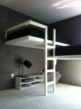 85 Best Of Queen Loft Beds Design Ideas- A Perfect Way to Maximize Space In A Room 6264