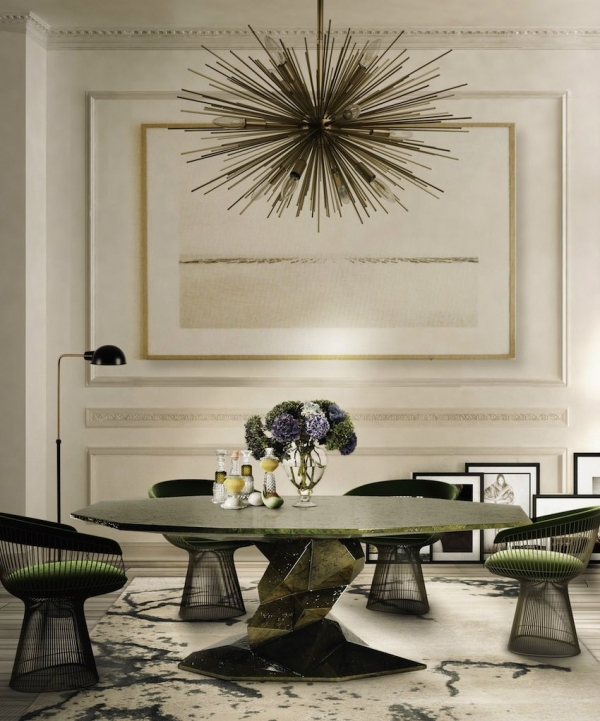 97 Most Popular Of Modern Dining Room Tables In A Contemporary Style 6871