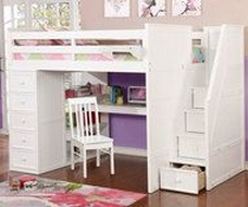 30+ Bunk Beds Design Ideas With Desk Areas Help To Make Compact Bedrooms Bigger 16