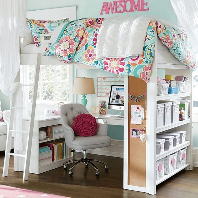 34 Bunk Bed Design Ideas With The Most Enthusiastic Desk In Interest 20