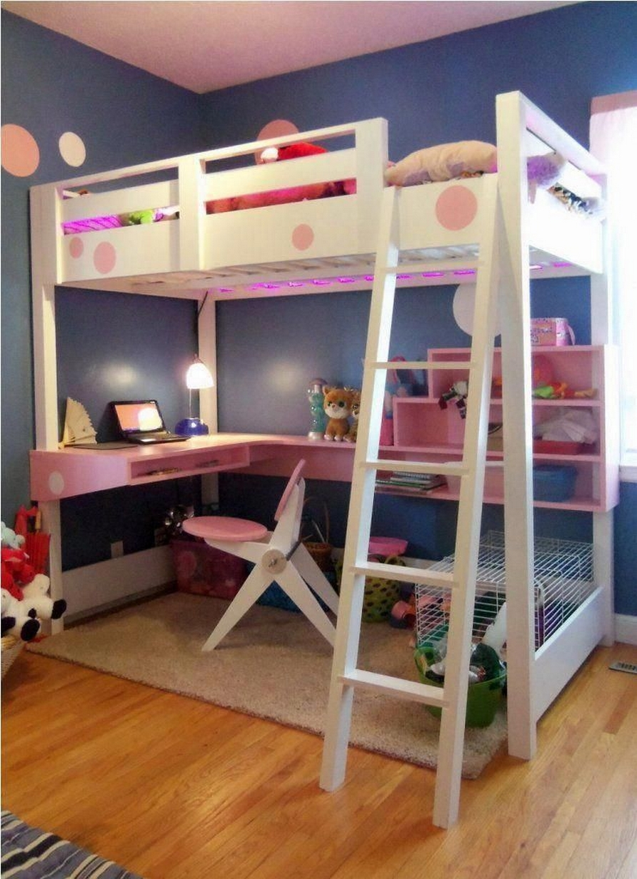 34 Bunk Bed Design Ideas With The Most Enthusiastic Desk In Interest 31
