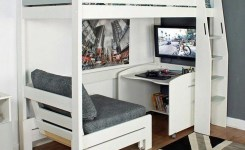 39 Amazing Bunk Beds With Desk Design Ideas Tips Choosing Bunk Beds With Desks 22