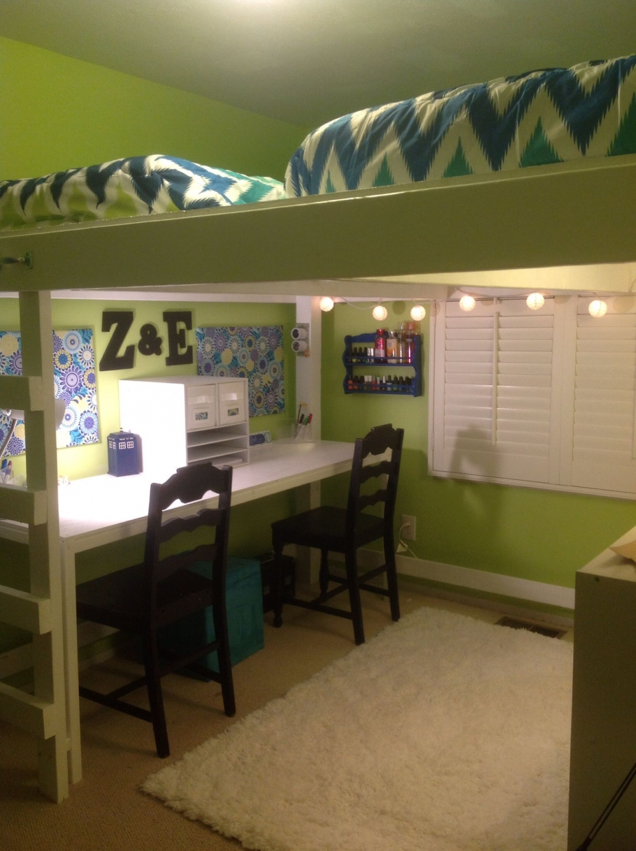 Permalink to 54 Extraordinary Loft Beds In One Room