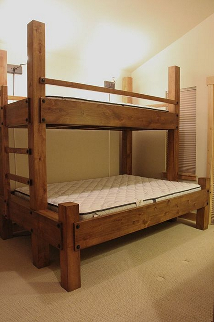 82 Amazing Models Bunk Beds With Guard Rail On Bottom Ensuring Your Bunk Bed Is Safe For Your Children 11