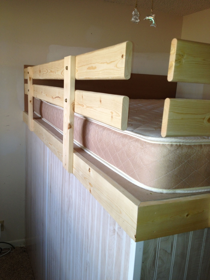82 Amazing Models Bunk Beds With Guard Rail On Bottom Ensuring Your Bunk Bed Is Safe For Your Children 17