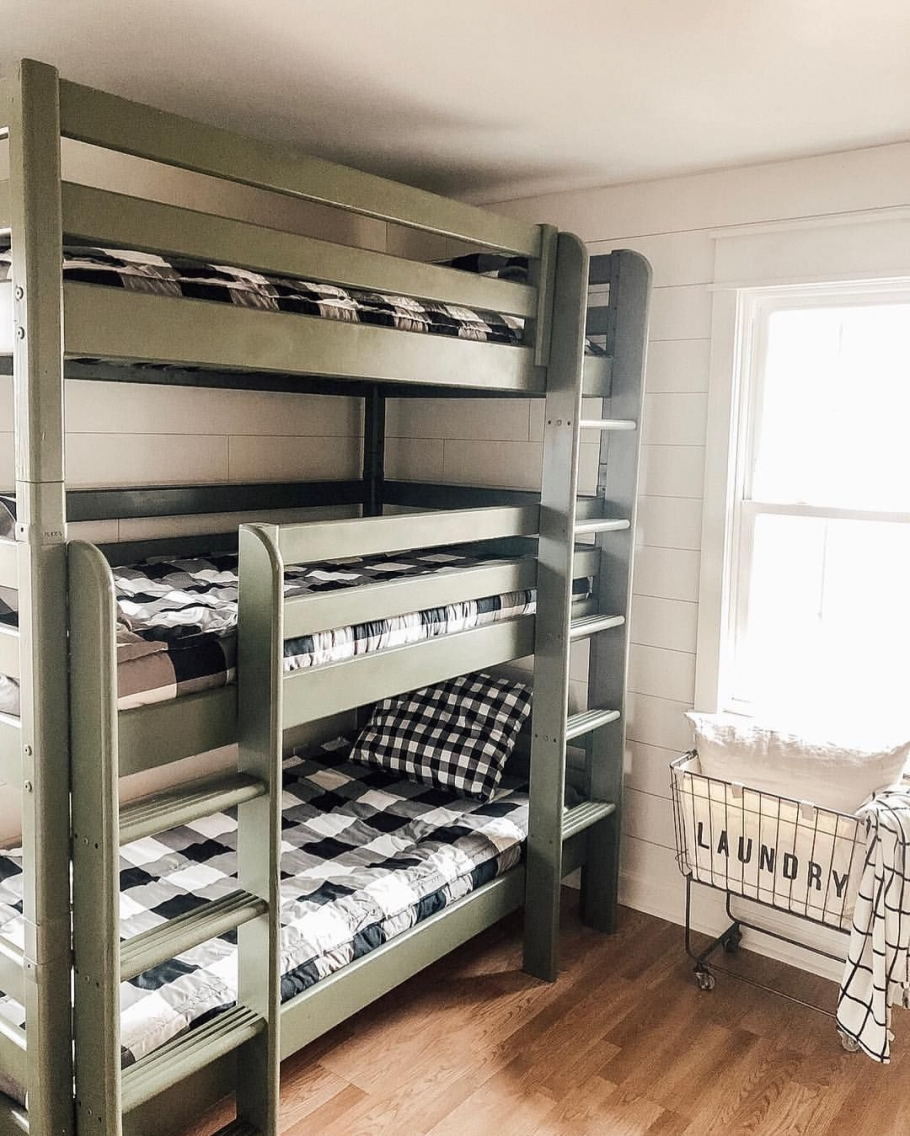 90 top Picks for A Triple Bunk Bed for Kids Rooms-9576