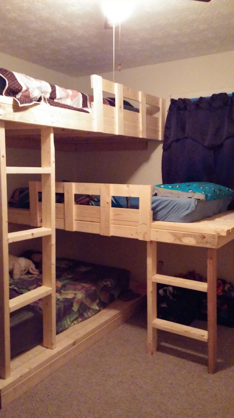 90 top Picks for A Triple Bunk Bed for Kids Rooms-9549