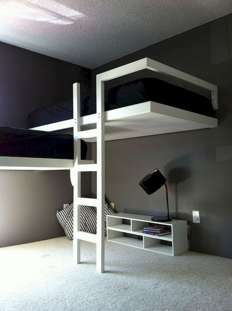 94 Minimalist Bunk Beds Design Ideas - Tips for Designing the Space-10155