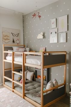 94 Minimalist Bunk Beds Design Ideas - Tips for Designing the Space-10234