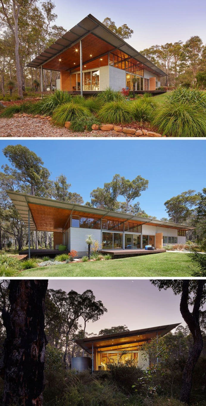95 Examples Of Amazing Contemporary Flat Roof Design Of A House-9356