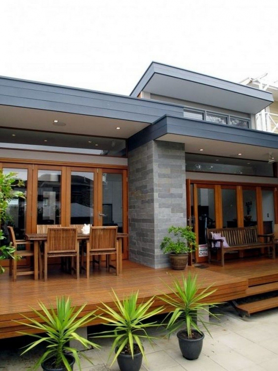 95 Examples Of Amazing Contemporary Flat Roof Design Of A House-9344
