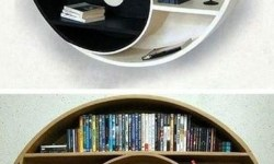 89 Models Beautiful Circular Bookshelf Design For Complement of Your Home Decoration