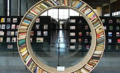 89 Models Beautiful Circular Bookshelf Design For Complement Of Your Home Decoration 29
