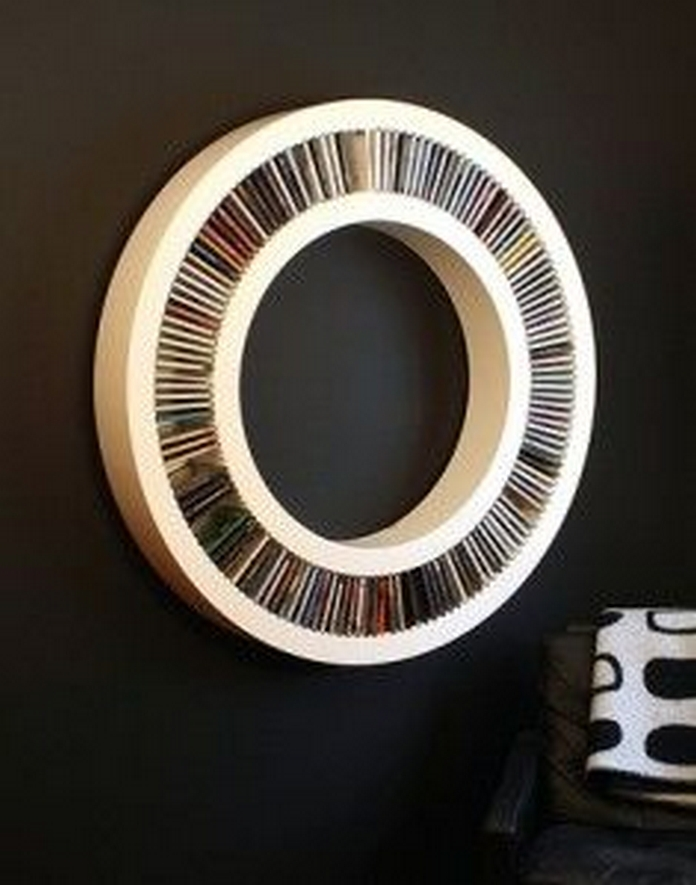 89 Models Beautiful Circular Bookshelf Design For Complement Of Your Home Decoration 34