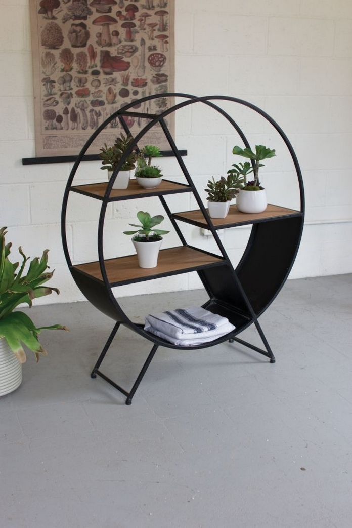 89 Models Beautiful Circular Bookshelf Design For Complement Of Your Home Decoration 36