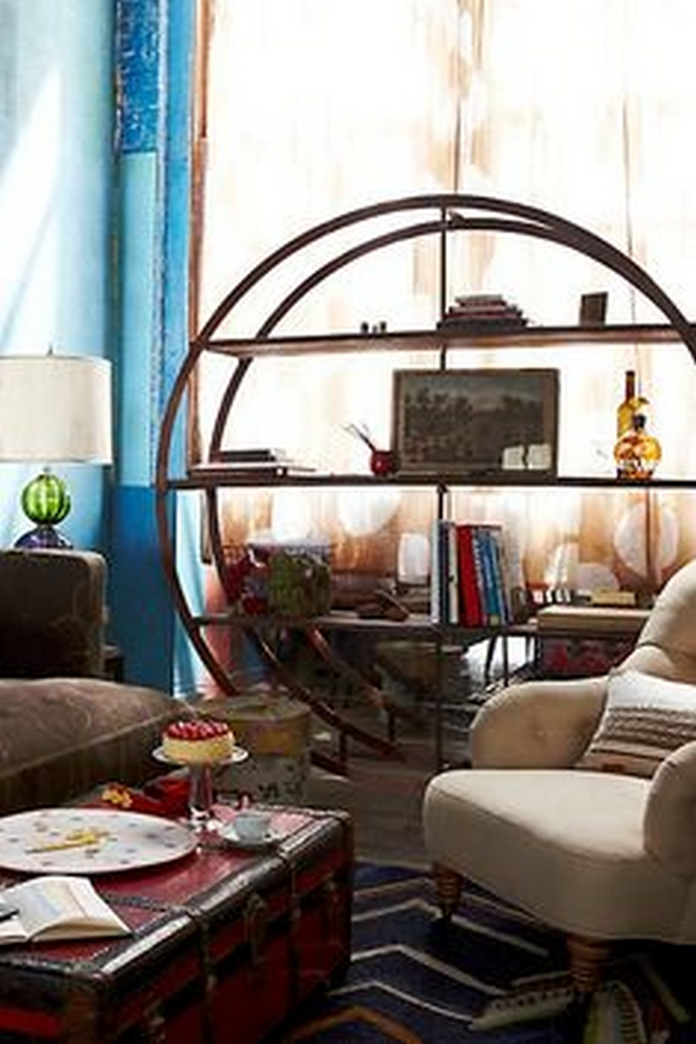 89 Models Beautiful Circular Bookshelf Design For Complement Of Your Home Decoration 44