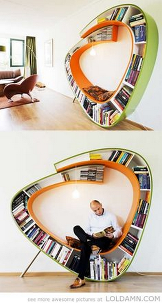 89 Models Beautiful Circular Bookshelf Design For Complement Of Your Home Decoration 82