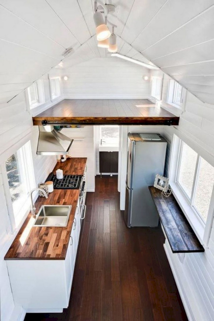 97 Cozy Tiny House Interior Are You Planning For Enough Storage 11
