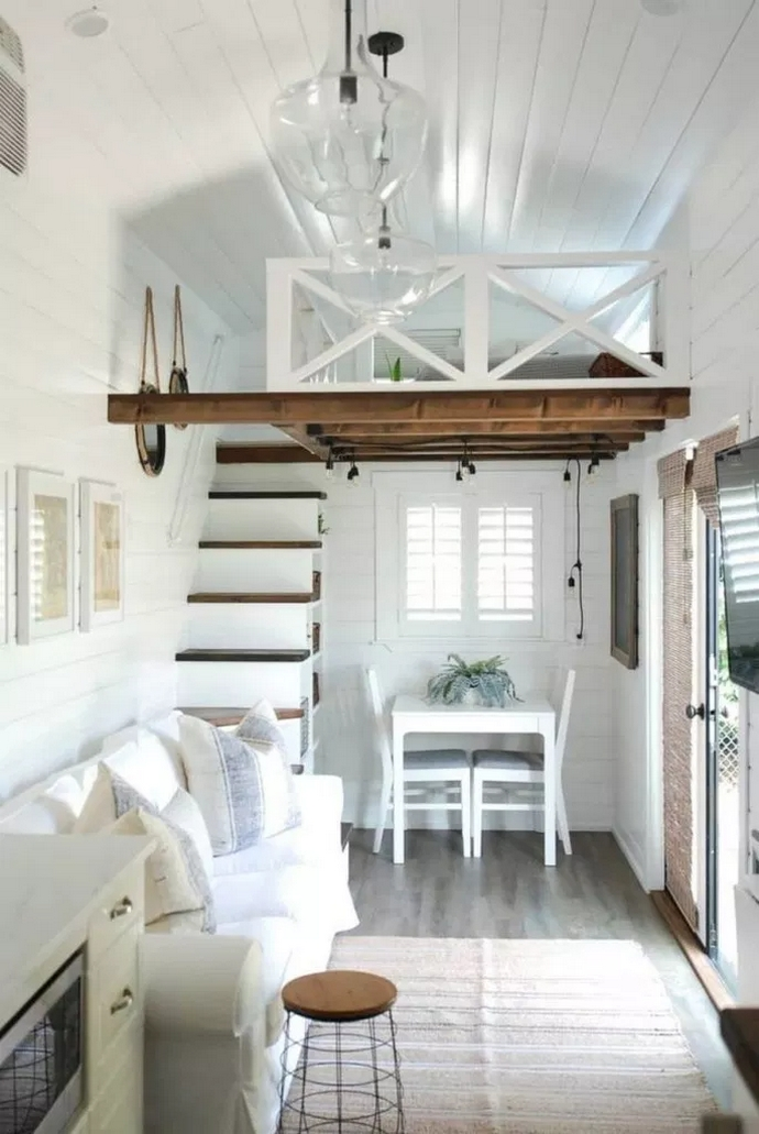 97 Cozy Tiny House Interior Are You Planning For Enough Storage 41