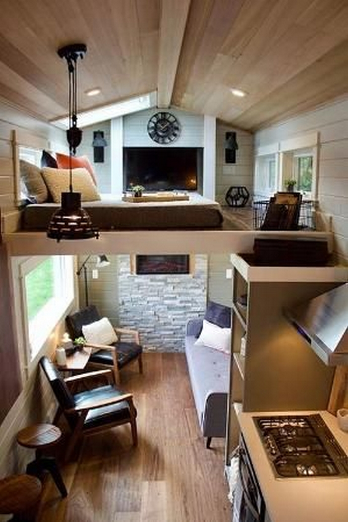 97 Cozy Tiny House Interior Are You Planning For Enough Storage 5