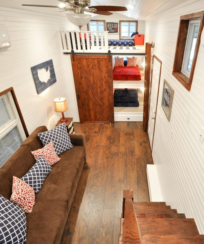 97 Cozy Tiny House Interior Are You Planning For Enough Storage 56