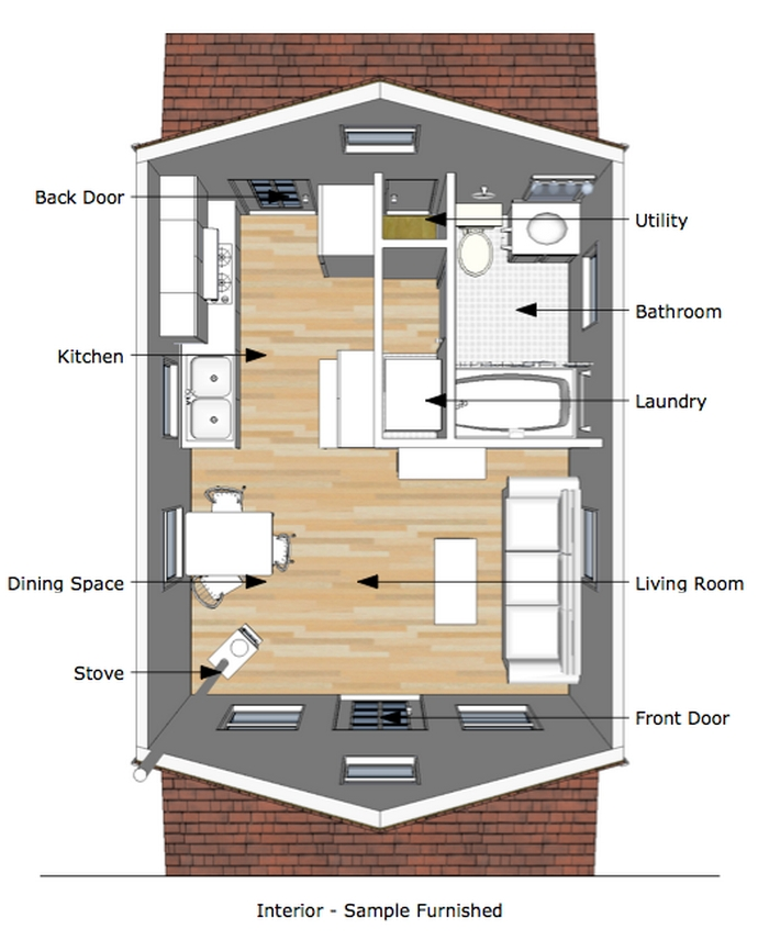 97 Cozy Tiny House Interior Are You Planning For Enough Storage 63