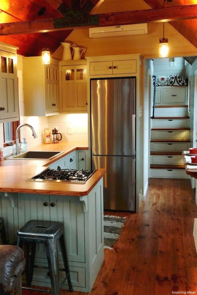 97 Cozy Tiny House Interior Are You Planning For Enough Storage 64