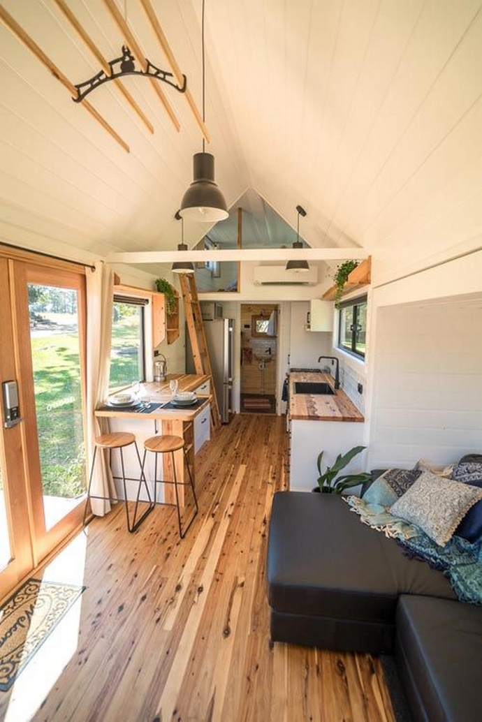 97 Cozy Tiny House Interior Are You Planning For Enough Storage 93