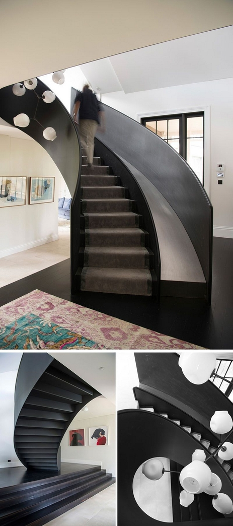 97 Most Popular Modern House Stairs Design Models 60