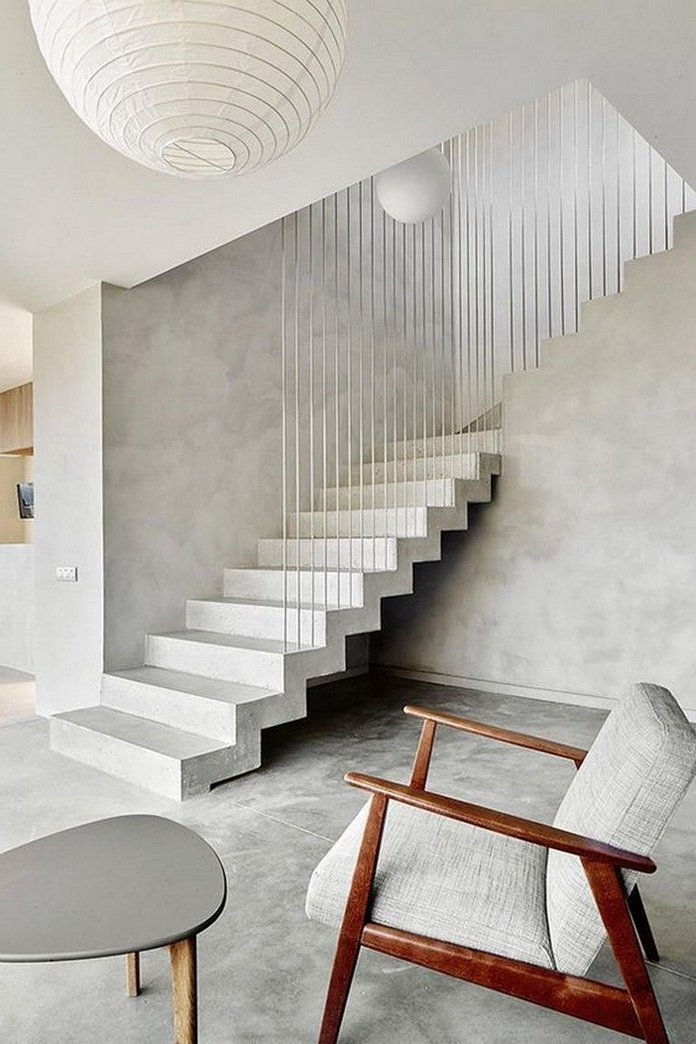 97 Most Popular Modern House Stairs Design Models 86