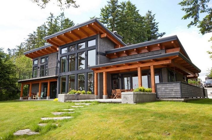 44 The Best Choice Of Modern Home Roof Design Models 27