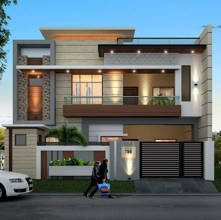 44 The Best Choice Of Modern Home Roof Design Models 38