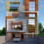 60 Choices Beautiful Modern Home Exterior Design Ideas 14