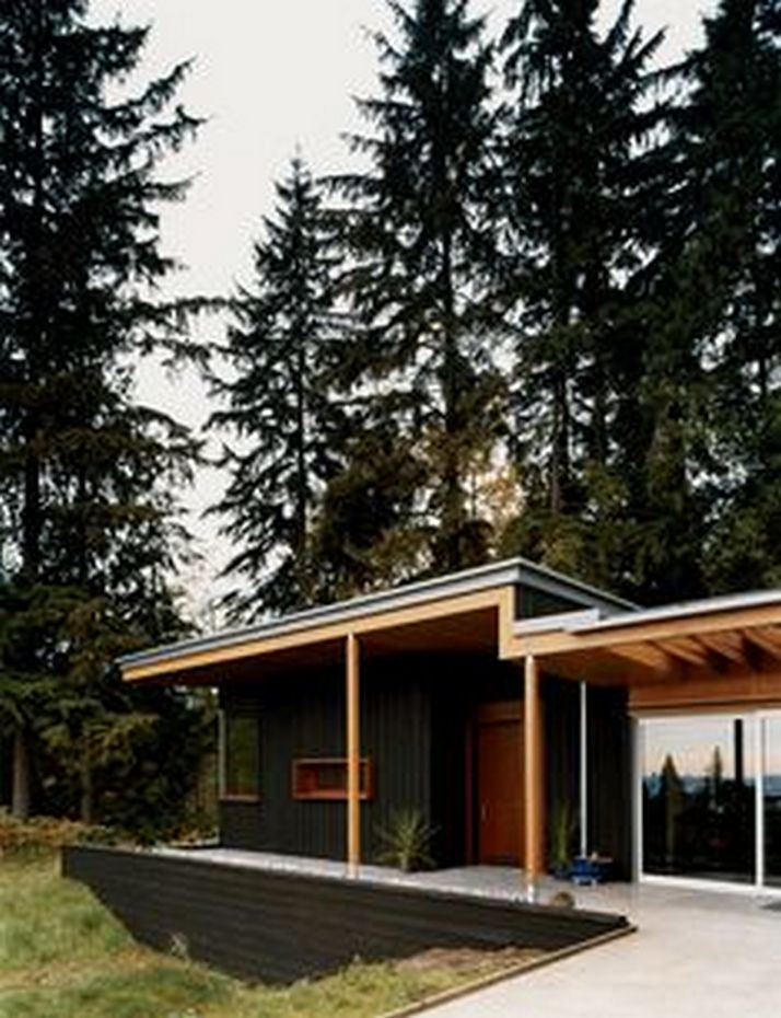 70+ Most Popular Modern Flat Roof House Design 31