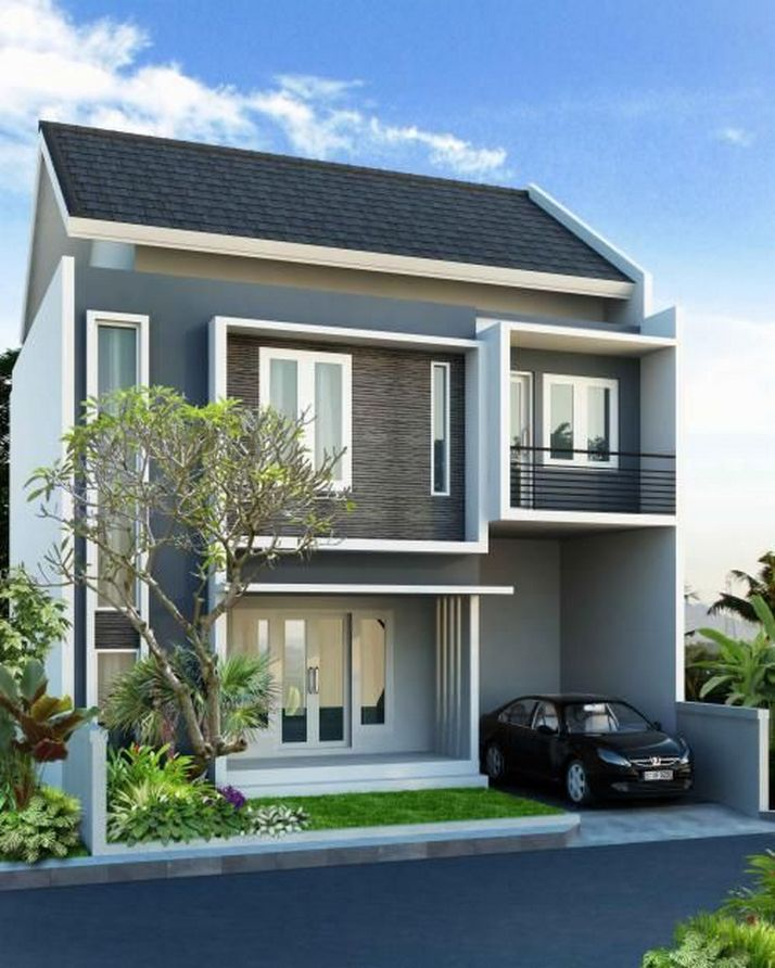 70+ Most Popular Modern Flat Roof House Design 37