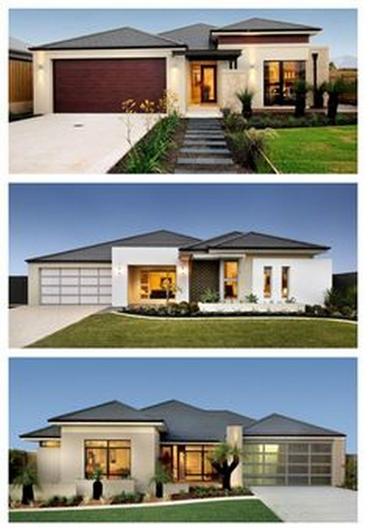 70+ Most Popular Modern Flat Roof House Design 50