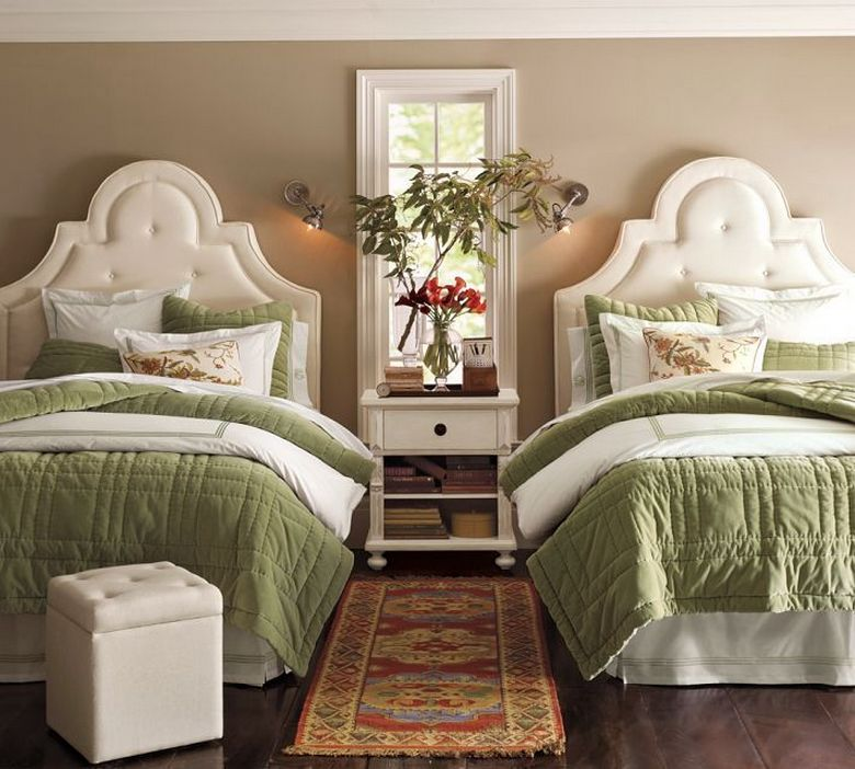 85 Master Bedroom Decoration Models With Two Beds Feel Comfortable In Use 2