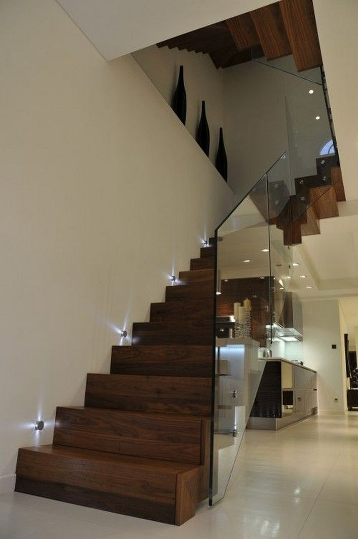 95 Cool Modern Staircase Designs For Homes (14)