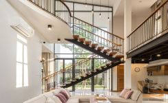 95 Cool Modern Staircase Designs For Homes (34)