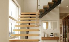 95 Cool Modern Staircase Designs For Homes (43)