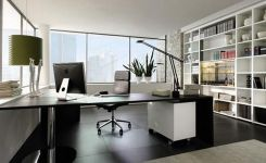 96 Modern Home Office Design Looks Elegant 1