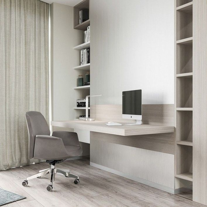 96 Modern Home Office Design Looks Elegant 32