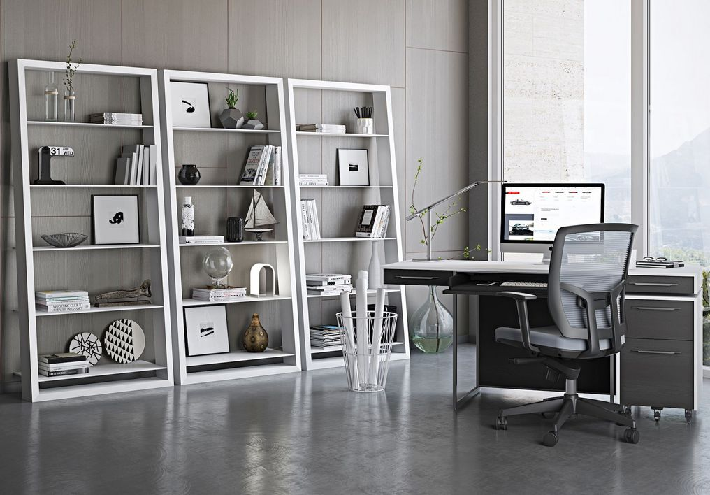96 Modern Home Office Design Looks Elegant 85