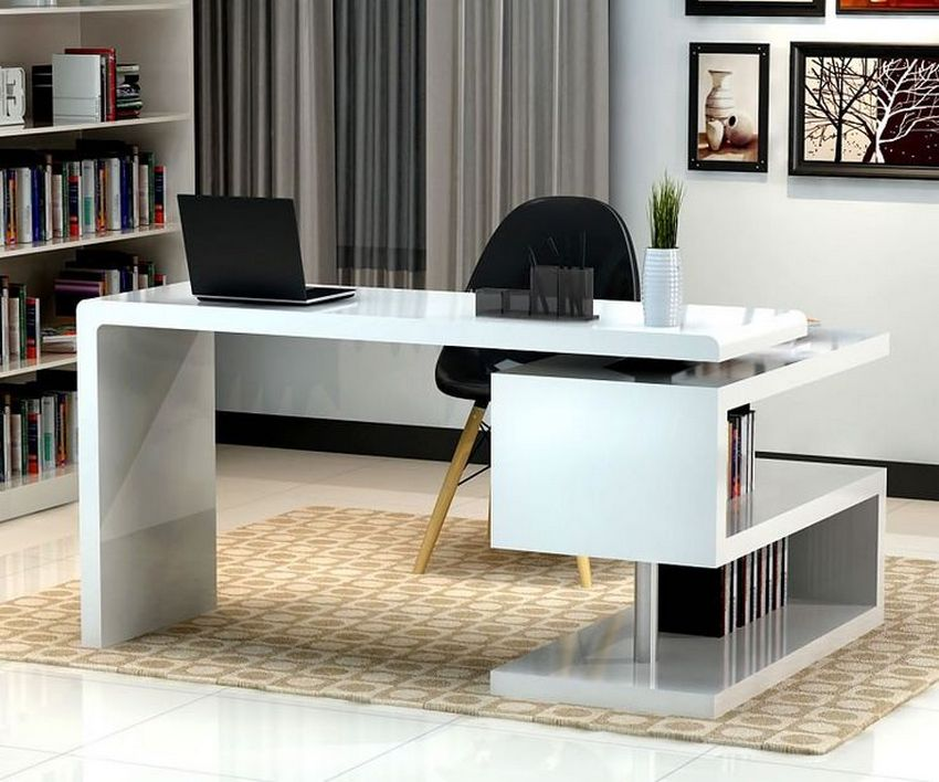 96 Modern Home Office Design Looks Elegant 87